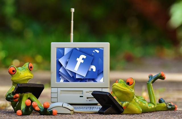 žáby u Facebooku