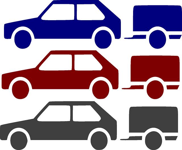 auta s vozíky